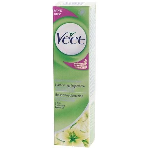 veet hårborttagningskräm grön