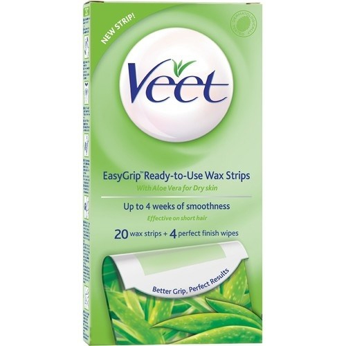 how to use veet cold wax strips for face