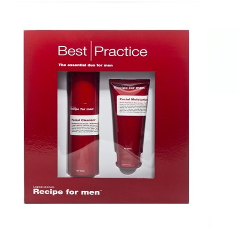Recipe for Men Best Practice Box (facial cleanser+factial moisturizer)