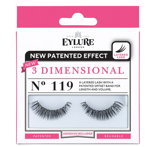 Eylure 3-D Lashes No. 119
