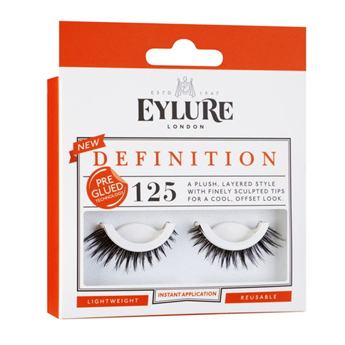 Eylure Definition Lashes No. 125 Pre-Glued