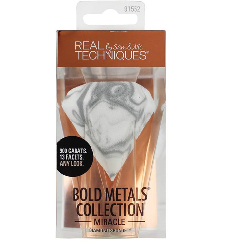 Real Techniques Bold Metals Collection Miracle Diamond Sponge