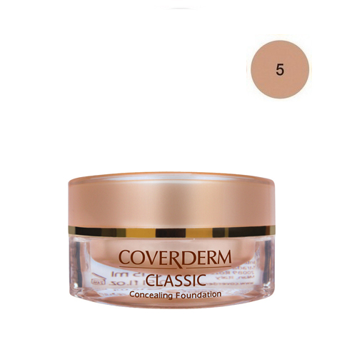 Coverderm Classic Foundation Waterproof 15 ml 5