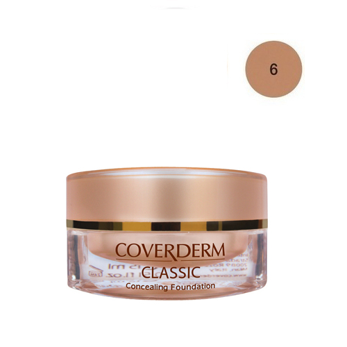 Coverderm Classic Foundation Waterproof 15 ml 6