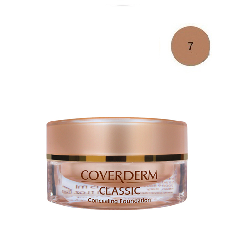 Coverderm Classic Foundation Waterproof 15 ml 7