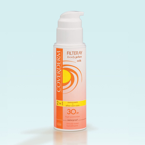 Coverderm Filteray Body Plus Milk Waterproof SPF 30 100 ml