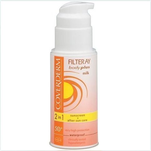 Coverderm Filteray Body Plus Milk Waterproof SPF 50+ 100 ml
