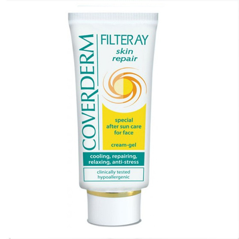 Coverderm Filteray Skin Repair After Sun Cooling Cream Gel 50 ml