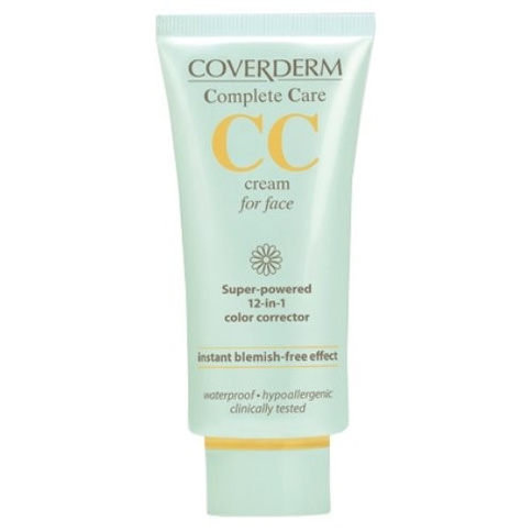 Coverderm Complete Care CC Cream For Face Waterproof SPF 25 40 ml