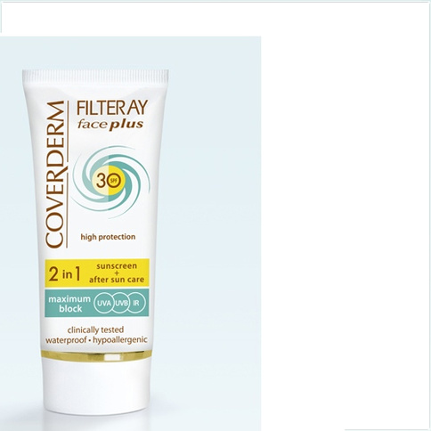 Coverderm Filteray Face Plus SPF 30 Dry/Sensitive Skin 50 ml