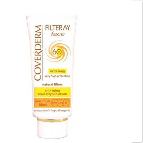 Coverderm Filteray Face Waterproof SPF 60 50 ml