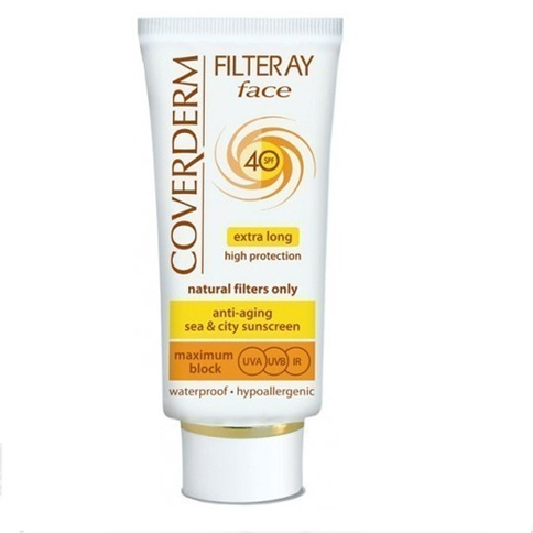 Coverderm Filteray Face SPF 40 Waterproof 50 ml