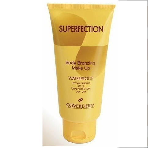 Coverderm Superfection Body Bronzing Waterproof Make-up SPF 15 100 ml