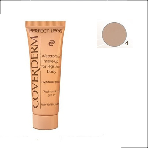 Coverderm Perfect Legs& Body Waterproof Make-up SPF 16 50 ml 4