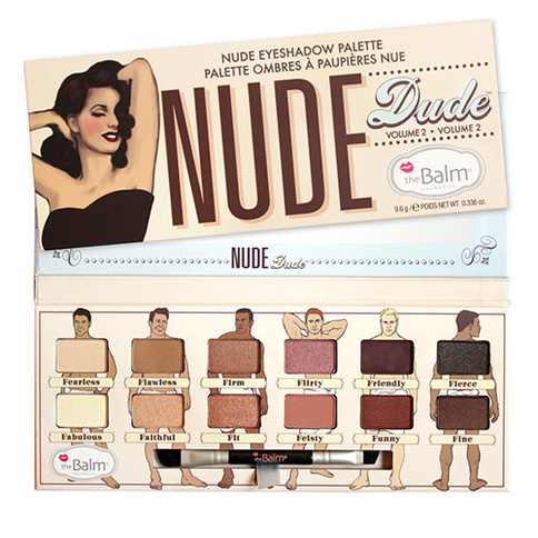 The Balm Nudedude Eyeshadow Palette
