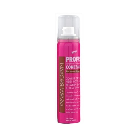 Proffs Hair Concealer 80 ml Warm Brown