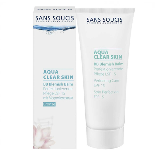 Sans Soucis Aqua Clear Skin BB Blemish Balm Perfecting Cream SPF 15 40 ml Bronze