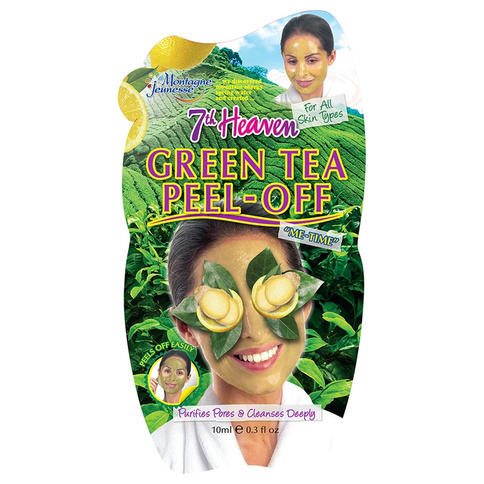 7th Heaven Ansiktsmask Green Tea Peel Off Comb and Greasy Skin 10 ml