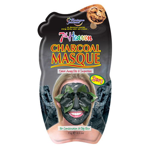 7th Heaven Ansiktsmask Charcoal 2in1 15g