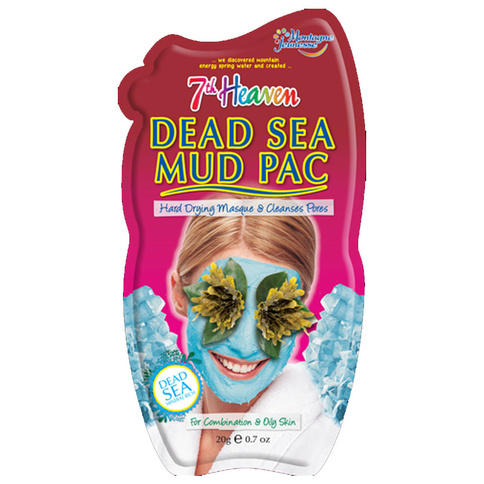 7th Heaven Ansiktsmask Dead Sea Mud Pac 20g