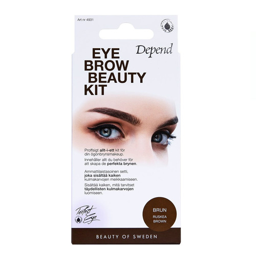 Depend PERFECT EYE Eyebrow Beauty Kit Brun