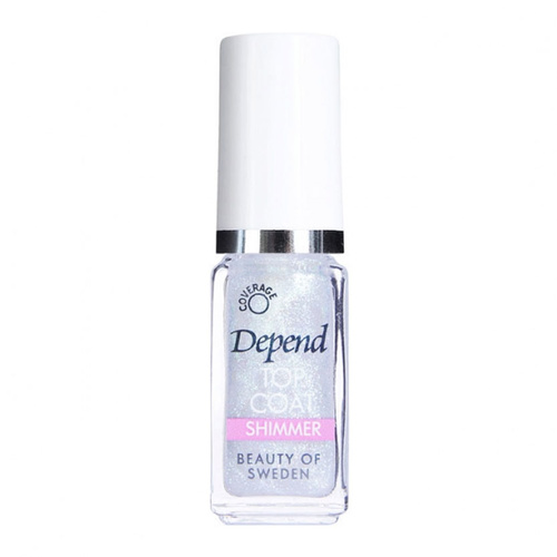 Depend Minilack 5 ml 490 Shimmer Top Coat