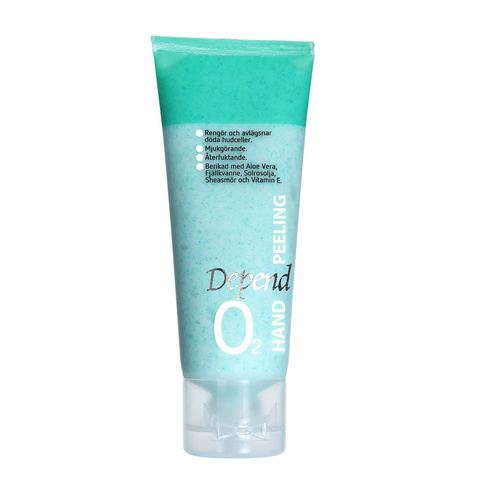 Depend O2 Hand Peeling 75 ml