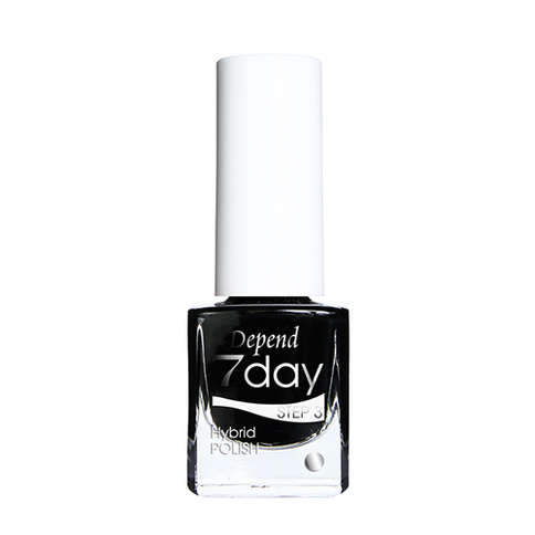 Depend 7day Hybrid Polish Step 3 5 ml 7013 Goth Black