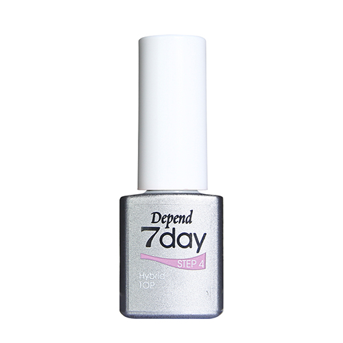 Depend 7day Step 4 Hybrid Polish Top 5 ml