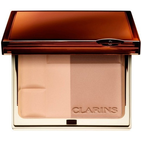 Clarins Bronzing Duo Mineral Powder Compact 10g