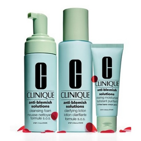 Clinique Anti-Blemish Solutions 3-Step Skin Care System 180 ml