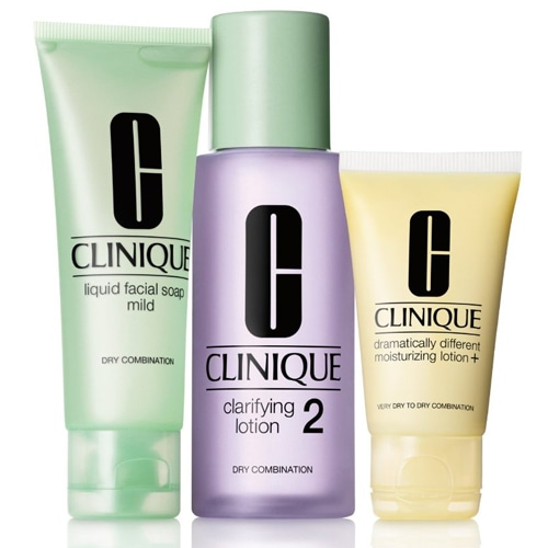 Clinique 3-Step Skin Care Intro Set. Skin Type 2 180 ml