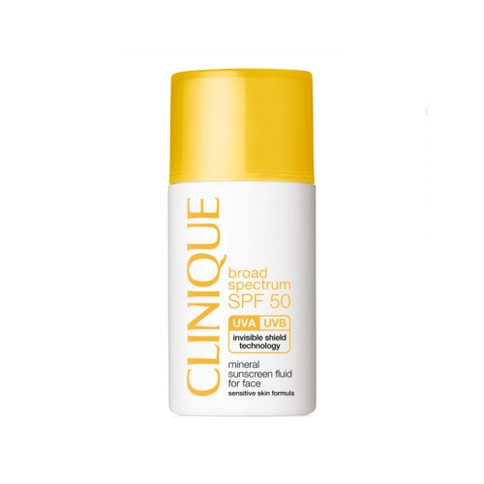 Clinique SPF 50 Mineral Sunscreen For Face 30 ml