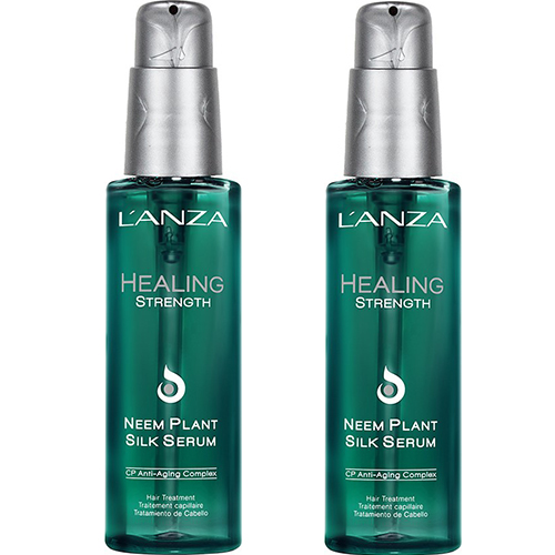 Lanza Healing Strength Neem Plant Silk Serum Kit