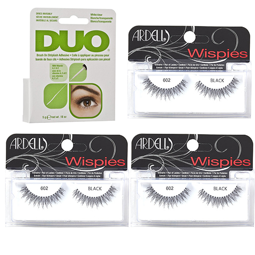 Ardell Fashion Lashes Wispies Trio Combo Pack Duo Franslim
