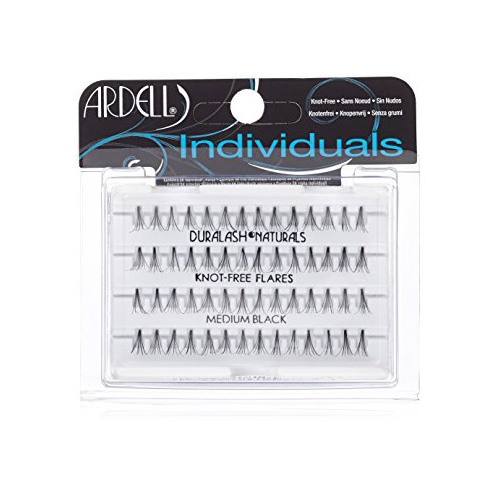 Ardell Indviduals Duralash Naturals Knot-Free Flares Medium Black