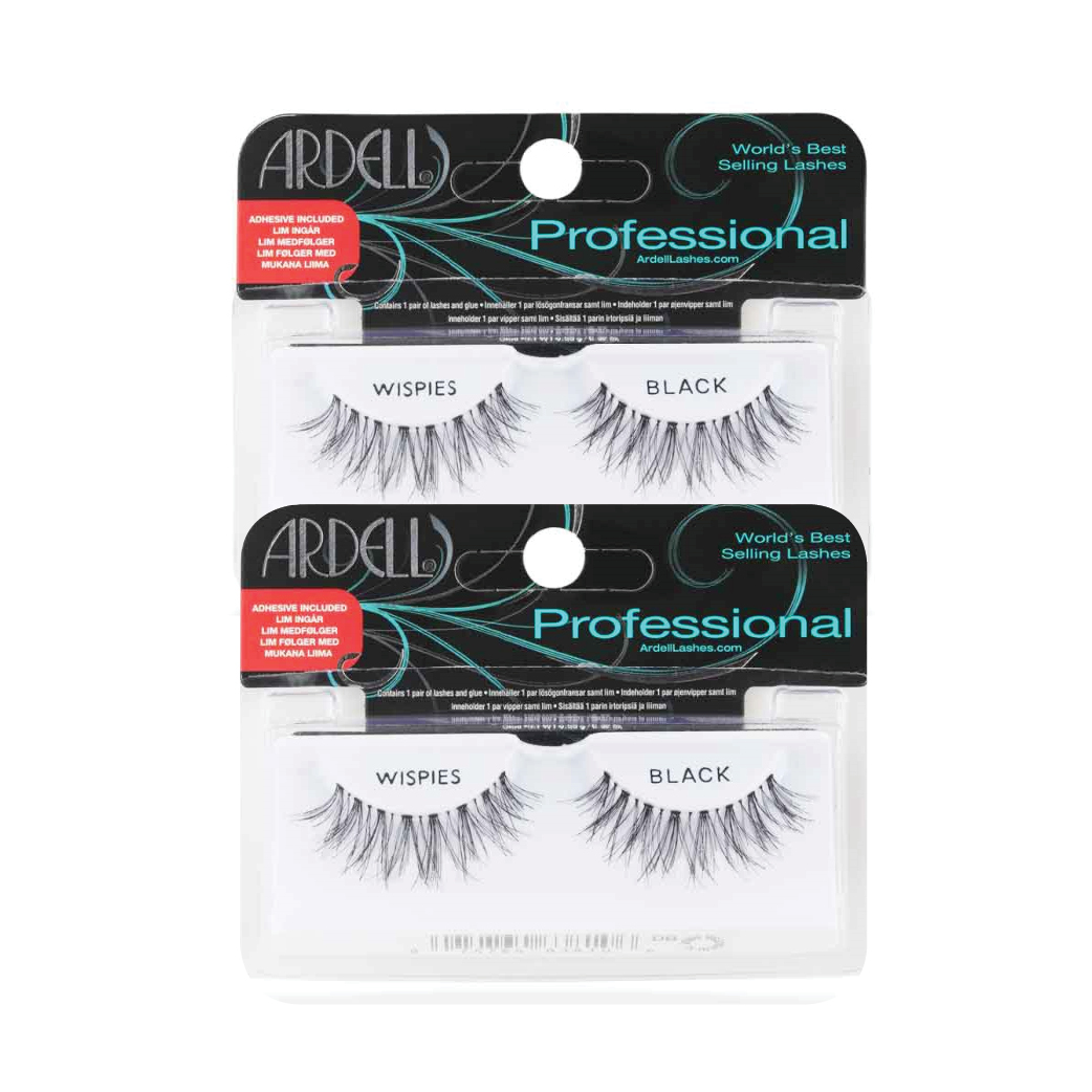 Ardell Fashion Lashes Wispies Black Duo Pack