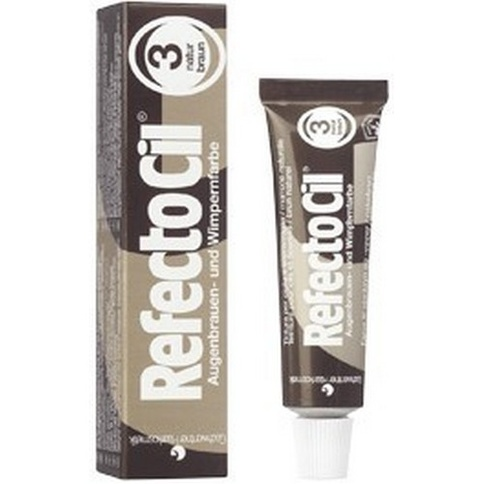 Refectocil Frans- & Ögonbrynsfärg 3. Naturbrun 15 ml