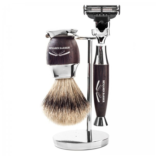 Benjamin Barber Marquise 3-Piece Shaving Set Fusion