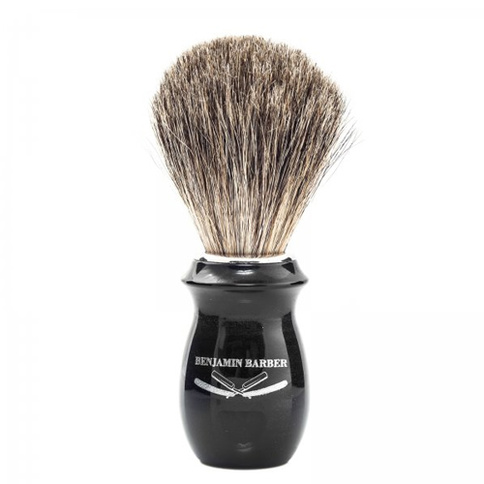 Benjamin Barber Duke Shaving brush Ebony 11.4 cm