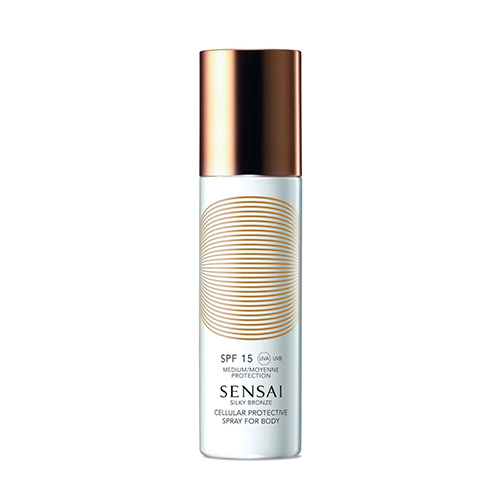 Sensai Silky Bronze Cellular Protective Spray For Body Spf15 150 ml