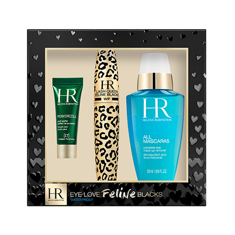 Helena Rubinstein Eye Love Feline Blacks Waterproof Set