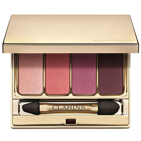 Clarins 4-Colour Eye Shadow Palette 6.9g 07 Lovely Rose