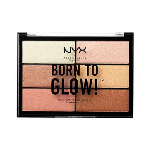 NYX Professional Makeup Born To Glow BTGHP01 Highlighter Palette