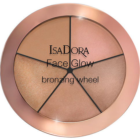 ISADORA FACE GLOW WHEEL 52 BEACH GLOW