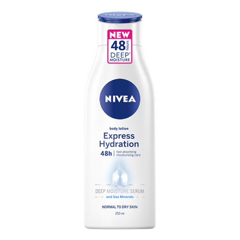 Nivea body lotion Express Hydration 48h 250 ml