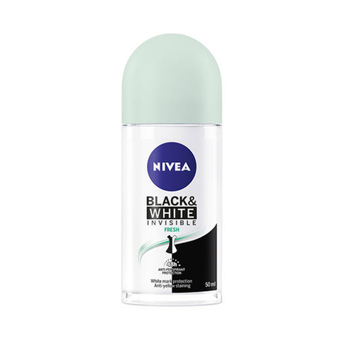 Nivea Deo Black & White Invisible Fresh Roll on 50 ml
