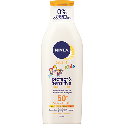 Nivea SUN KIDS PROTECT & SENSITIVE LOTION SPF50+ 200 ml