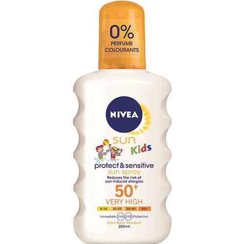 Nivea SUN KIDS PROTECT & SENSITIVE SPRAY SPF50+ 200 ml