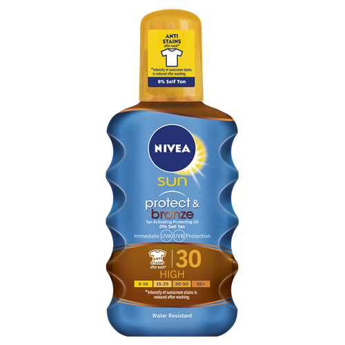 Nivea Protect & Bronze Oil SPF 30 200ml